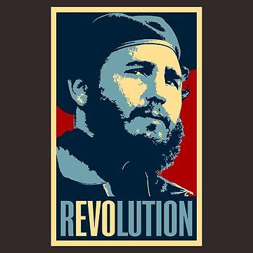 Fidel Castro Revolution by leonmartin