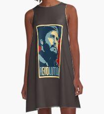 Fidel Castro Revolution A-Line Dress