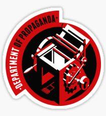Department of Propaganda Printing Press Sticker