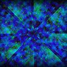 Blue Kaleidoscope by Marie Sharp