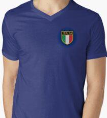 Calcio Italiano Mens V-Neck T-Shirt