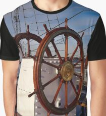 Ship steering wheel, Gorch Fock Graphic T-Shirt