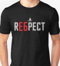 RE6PECT Shirt - Light Text Unisex T-Shirt