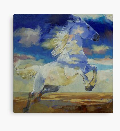 Apache Dreaming Canvas Print