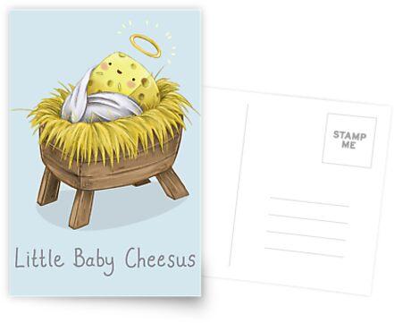 Little Baby Cheesus by SprawlingPuppy