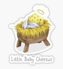 Little Baby Cheesus Sticker