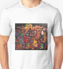 faces faces and more faces.....all these damned faces Unisex T-Shirt