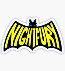 Na Na Na Na Nightfury Sticker
