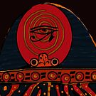 Lucky Egyptian Scarab by Ginny Luttrell