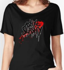 Ash vs The Evil Dead - ASHY SLASHY (BLOOD ON BLACK) Women's Relaxed Fit T-Shirt