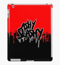 Ash vs The Evil Dead - ASHY SLASHY (BLOOD ON BLACK) iPad Case/Skin