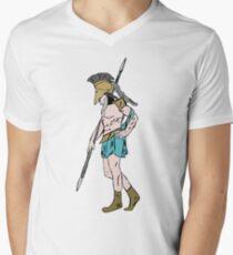 Classic warrior Men's V-Neck T-Shirt