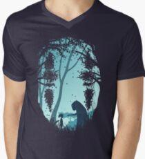 Lonely Spirit Men's V-Neck T-Shirt