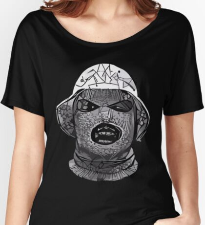 Abstract Oxymoron B&W Relaxed Fit T-Shirt