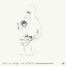 (Night) & Nap Drawings 30 - She had made a wink - 1st August by Pascale Baud