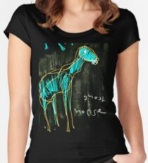 Ghost Horse Inversion Women's Fitted Scoop T-Shirt