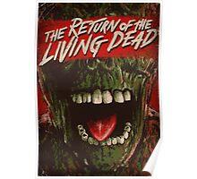 Return of the living dead poster Poster