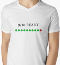 9/10 Ready Men's V-Neck T-Shirt