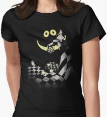 Alice in the Darkness Womens Fitted T-Shirt