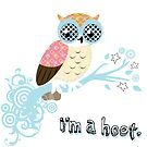 i'm a hoot. by rustyfeathers