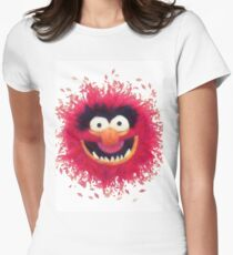 Muppets - Animal Womens Fitted T-Shirt