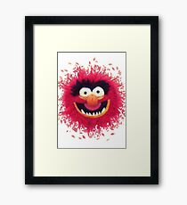Muppets - Animal Framed Print