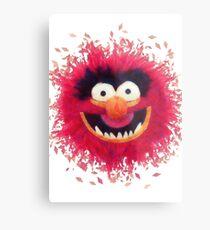 Muppets - Animal Metal Print