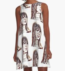 Marianne Faithfull A-Line Dress