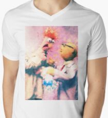 Beaker & Bunsen Mens V-Neck T-Shirt
