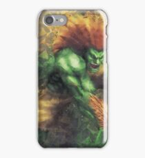 Street Fighter 2 - Blanka iPhone Case/Skin