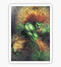 Street Fighter 2 - Blanka Sticker