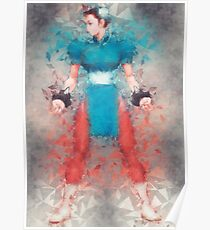 Street Fighter 2 - Chung Le Poster