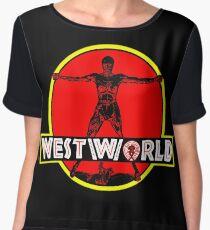 Westworld Park Chiffon Top