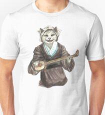 A Singing Cat Playing Samisen Unisex T-Shirt