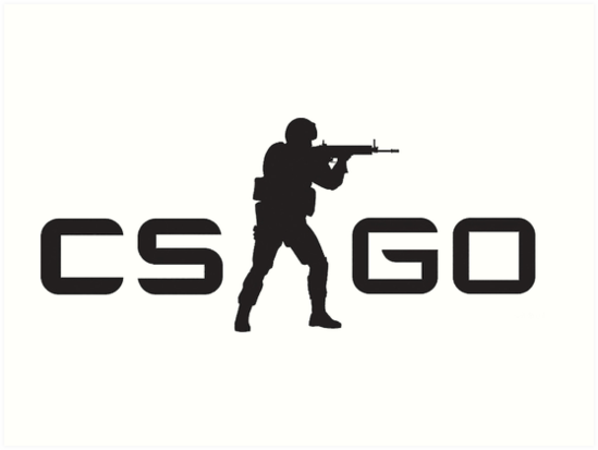 Quot Cs Go Logo Counter Strike Global Offence Quot Art Print By