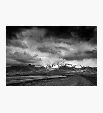 Avant la tempête Photographic Print