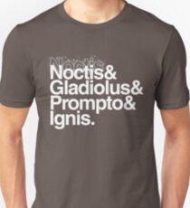 FFXV Helvetica Unisex T-Shirt