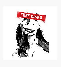 Free Binks Photographic Print