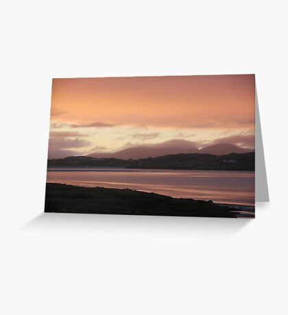 Sunset: Candyfloss Edition Greeting Card