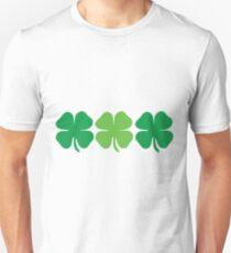 4 leaf clovers Unisex T-Shirt