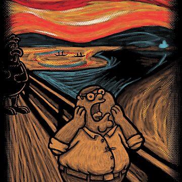 Scream in Quahog by Nasken