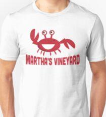 Martha's Vineyard T-shirt - Funny Red Crab T-Shirt