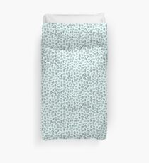Pattern in nautical baby blue color Duvet Cover