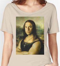 Vin Diesel/Mona Lisa Women's Relaxed Fit T-Shirt