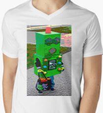 Robot Fashionista Men's V-Neck T-Shirt