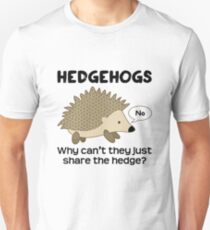 Hedgehog Pun Unisex T-Shirt