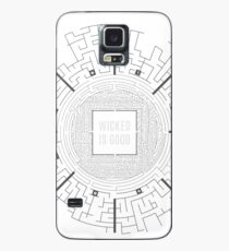 Funda/vinilo para Samsung Galaxy El Layout Maze Runner