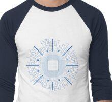 Maze Runner Blueprints Men's Baseball ¾ T-Shirt