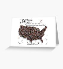We the People, Did not vote for Donald Trump! Greeting Card