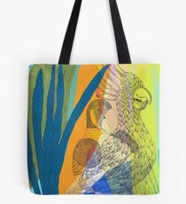 Latest gossip from the birds Tote Bag